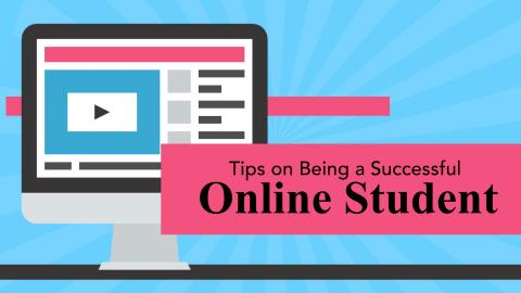 Thumbnail of Tips on Being a Successful Online Student