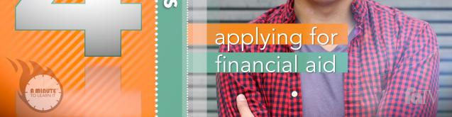 Thumbnail of Applying for Financial Aid