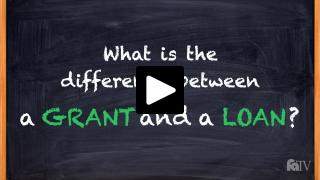 Thumbnail of What is the difference between a grant and a loan?