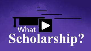 Thumbnail of What is a scholarship?