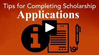 Thumbnail of Tips for Completing Scholarship Applications