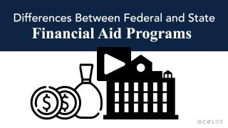 Thumbnail of Differences Between Federal and State Financial Aid Programs