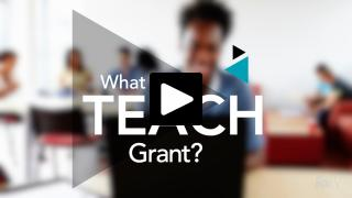 Thumbnail of What is a TEACH Grant?