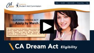 Thumbnail of California Dream Act Eligibility