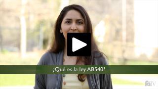 Thumbnail of ¿Qué es la ley AB540?