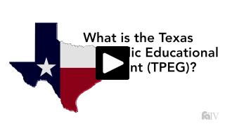 Thumbnail of What is the Texas Public Educational Grant (TPEG)?