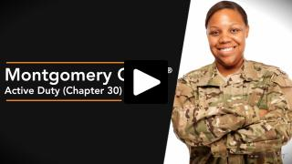 Thumbnail of Montgomery GI Bill ®  Active Duty (Chapter 30) Program