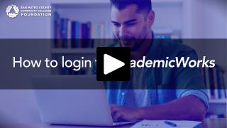 Thumbnail of How to login to AcademicWorks