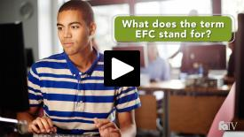 Thumbnail of What does the term EFC stand for?