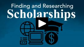 Thumbnail of Finding and Researching Scholarships