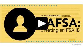 Thumbnail of  Creating an FSA ID