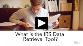 Thumbnail of What is the IRS Data Retrieval Tool?